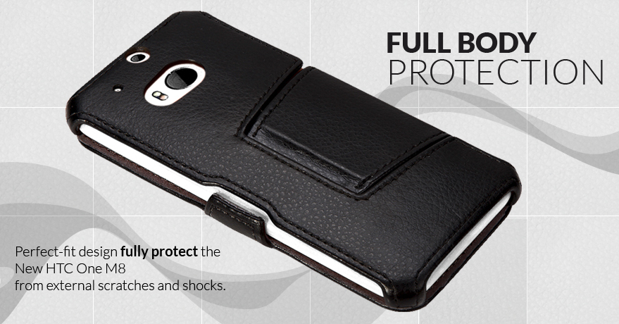 outlet store f3bb6 37f58 CTCStore Introduces the New HTC One M8 Case Protective Folio Stand ...
