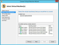 Convert Large Amounts of Virtual Machines from VMware to