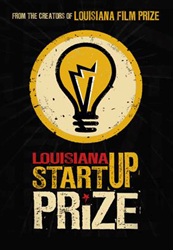 The logo of the Louisiana Startup Prize