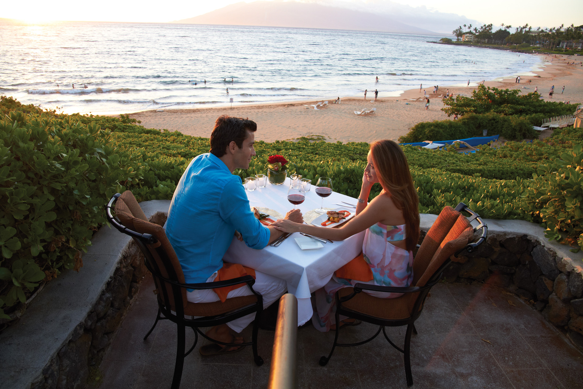 Guests Who Book The Ultimate Dinner Experience Will Have A Choice Of Four Seasons Resort Maui Landmark Locations