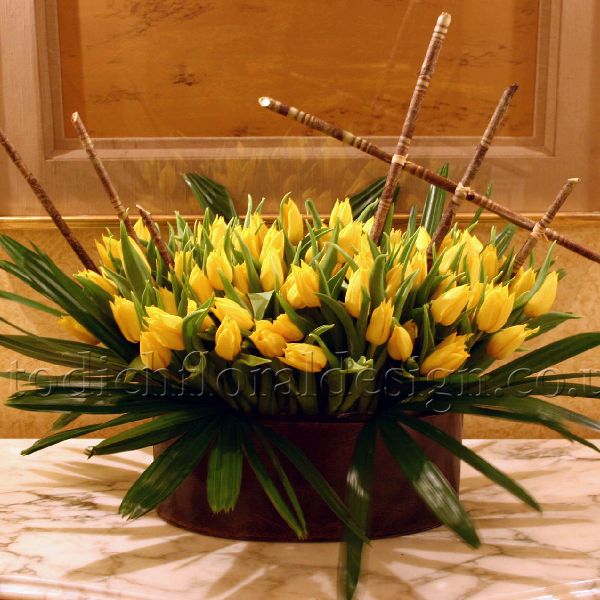 The first flowers of Spring at Flowers24hours flower delivery shop