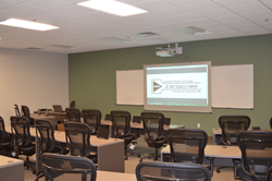 PHOTO: The classroom inside the AR&D Training Center, part of the technologically advanced hands-on and lecture learning space.