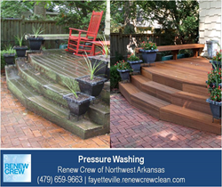 Pressure Washing Springdale AR - Renew Crew of Northwest Arkansas