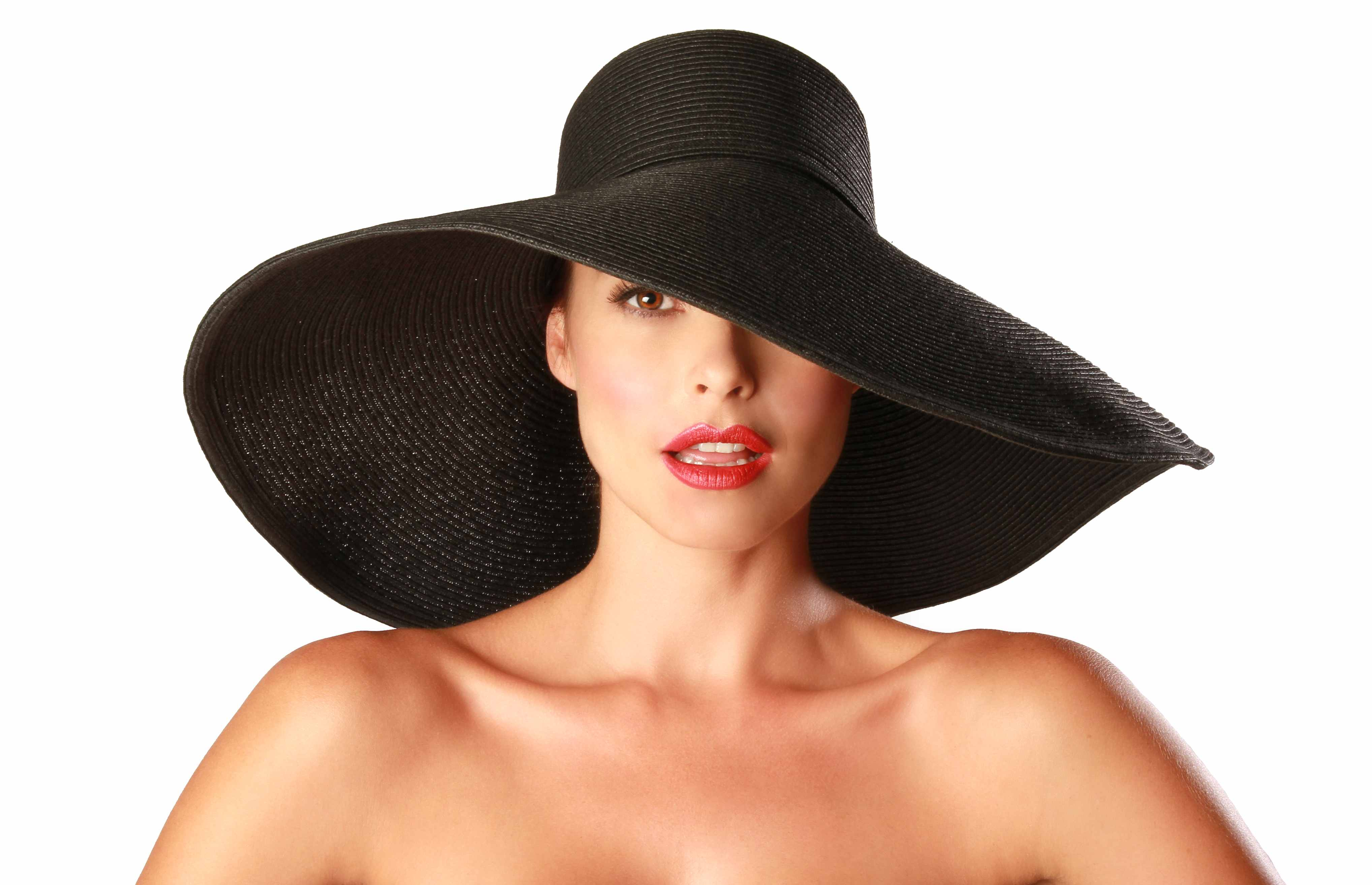 c12f70aad926c Belladonna Sun Hat in BlackWide Brimmed Kentucky Derby Sun Hat. Gottex by Physician  Endorsed ...