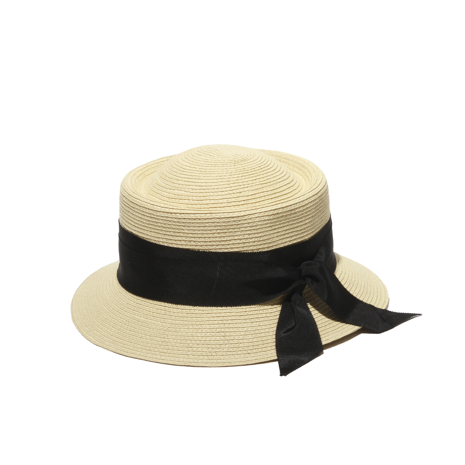 9a043604ac58e Olivia Straw HatNatural with Black Ribbon Straw Hat Vivienne Straw Sun  HatGottex by Physician Endorsed Stylish ...