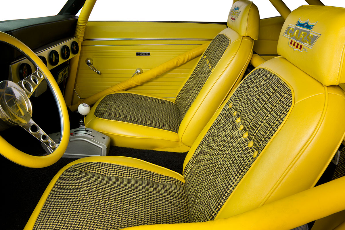 CARS Inc. Now Offers Custom Interiors for Classic Chevys that Fit Like Originals