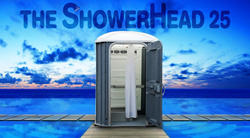The ShowerHead 25 Portable Shower by CALLAHEAD