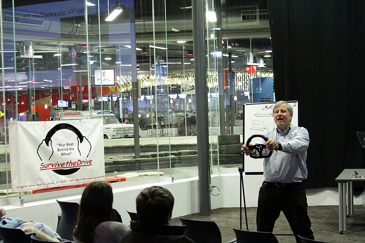 Grand Prix Driving School >> Survive The Drive Conducts Teen Driver Safety Clinic At Grand Prix