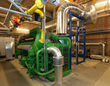 Budapest waste water treatment plant -  ENER-G 1.415kW CHP unit - one of three identical units