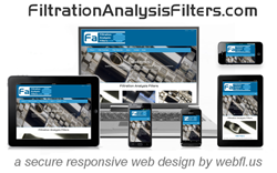 Filtration Analysis Filters gets Secure Responsive Web Design by Miami Web Developer