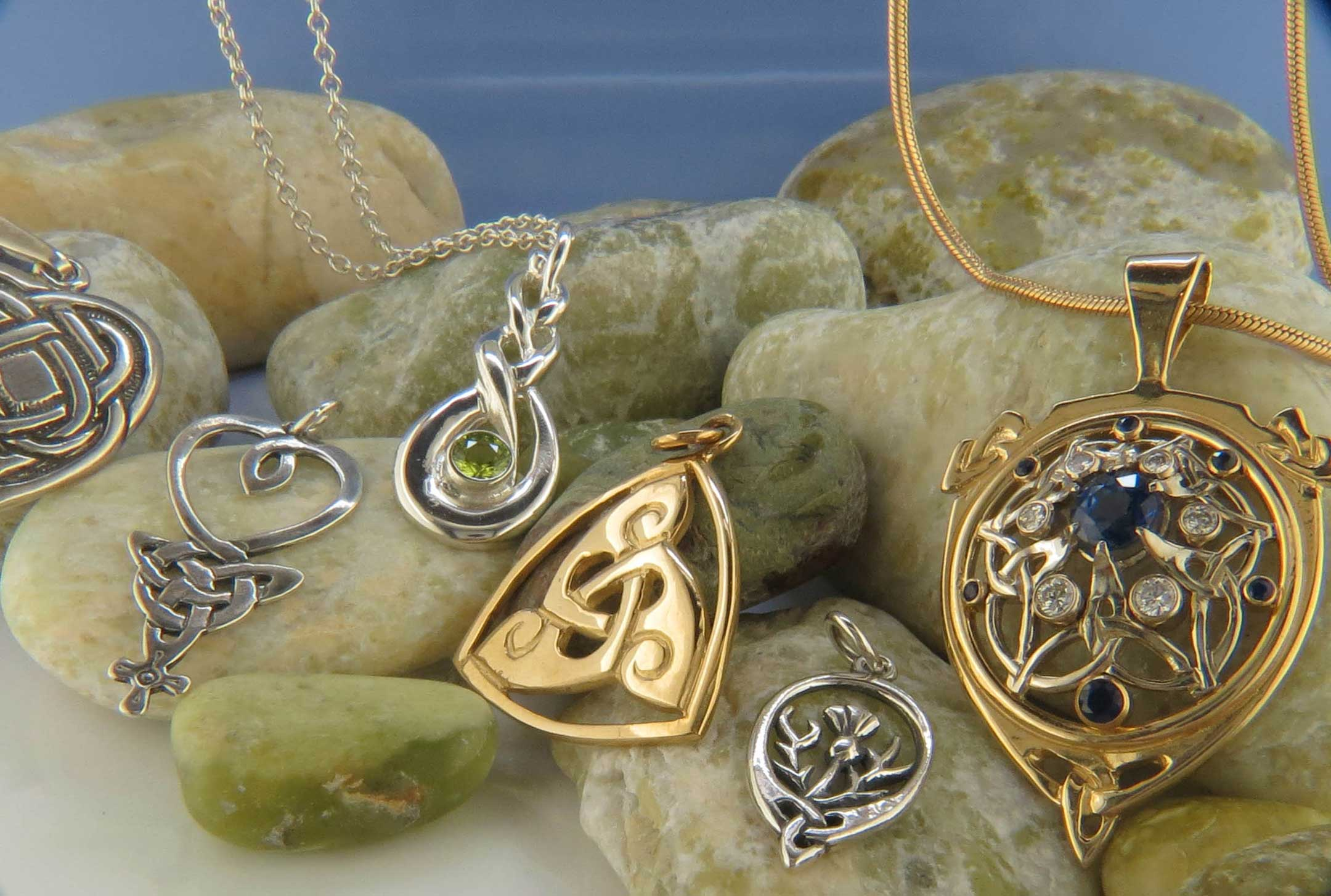 Studio Tour at Walker Metalsmiths Celtic Jewelry Will