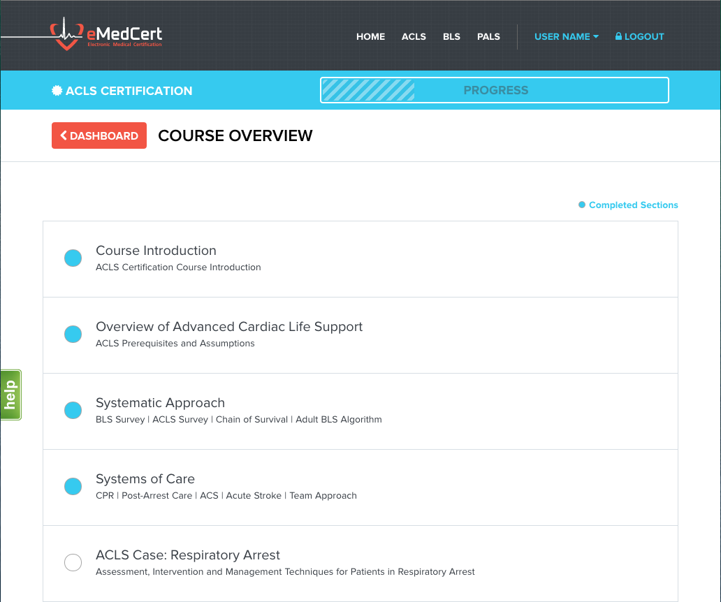 Emedcert Unveils Online Acls Pals And Bls Certification And