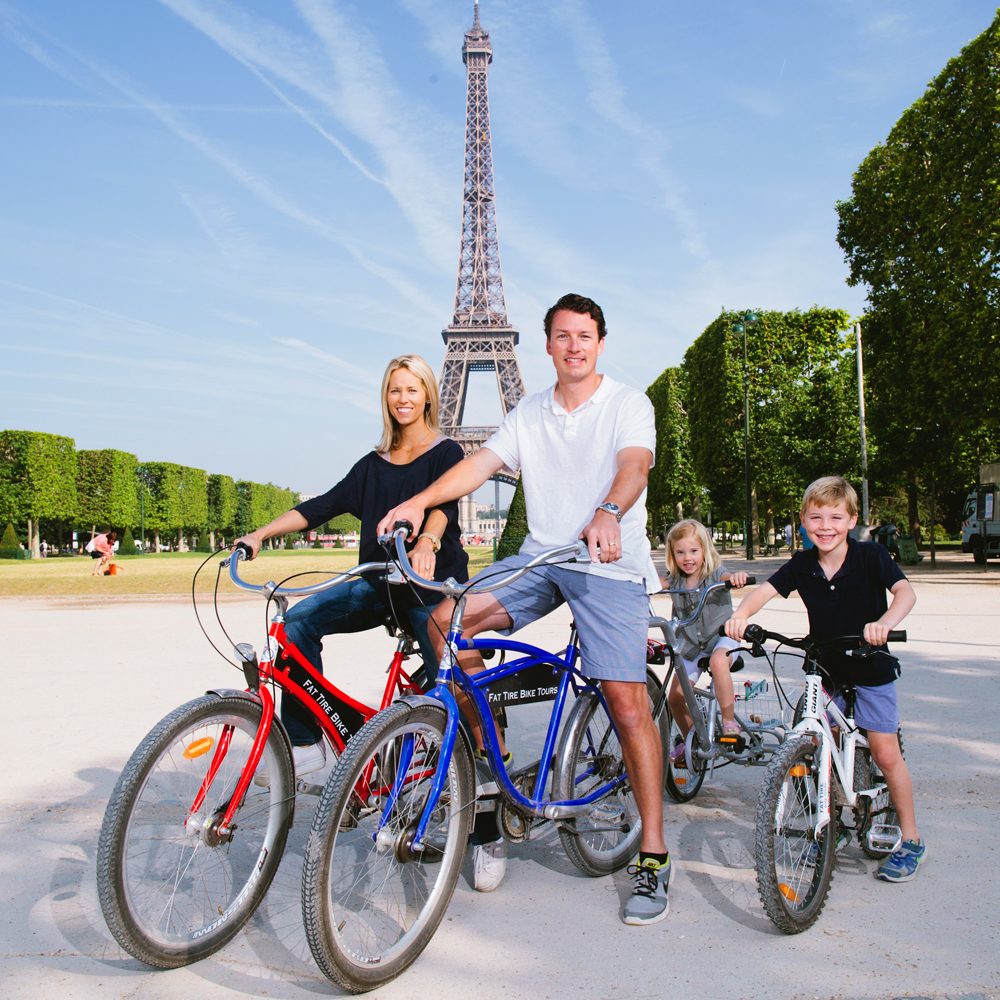 Fat Tire Bike Tours Paris Celebrates
