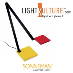 Sonneman Quattro LED Desk Light great for Dads and Grads at LightKulture.com