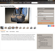 Outback Duffel Product Page—specific product page example