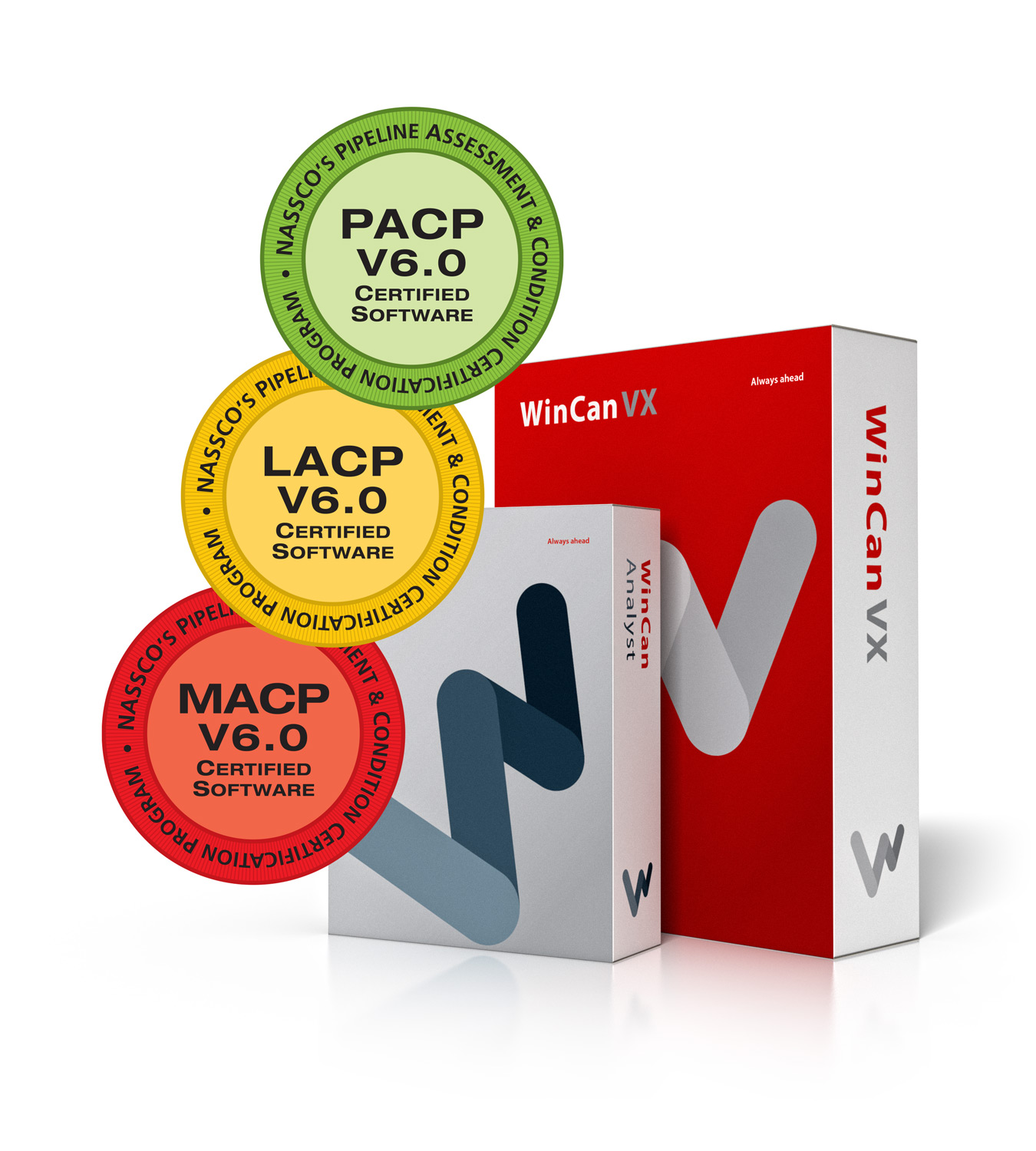 New WinCan VX Awarded Full NASSCO Certification for PACP, LACP and MACP