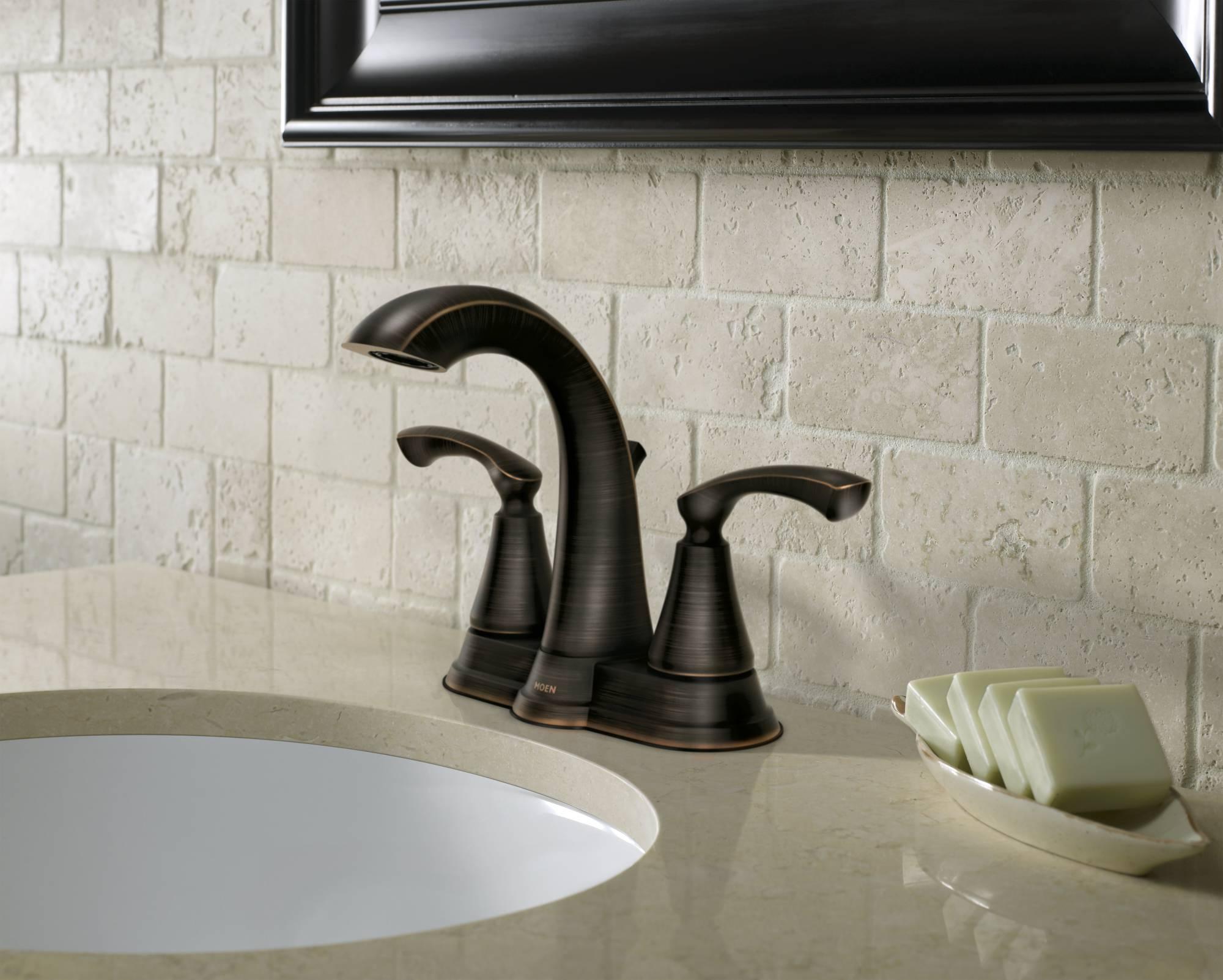 Moen Tiffin Bathroom Faucet Moen Sullivan Kitchen Faucet