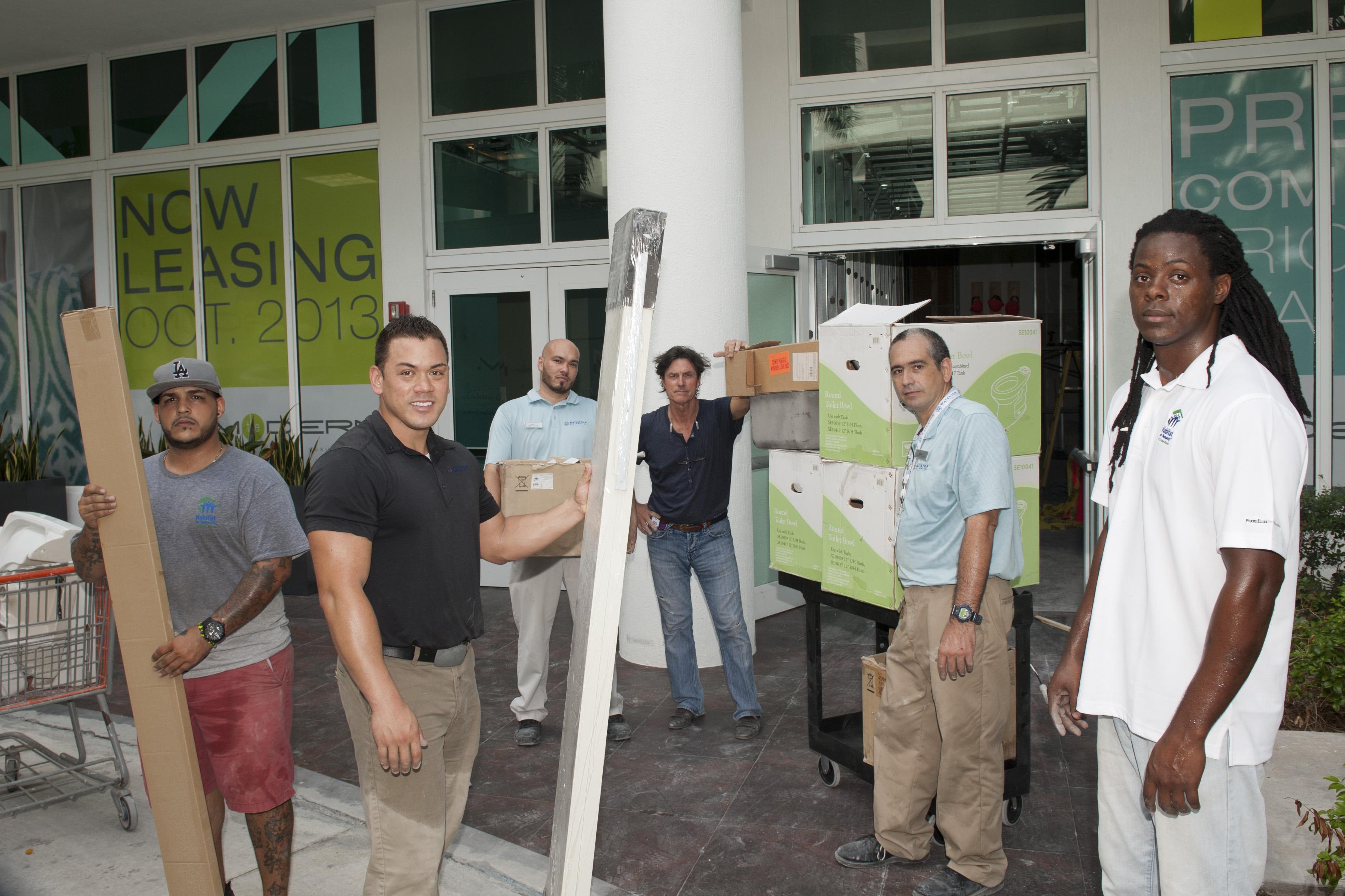 The Modern Miami Apartments Donates Unused Building Materials to ...