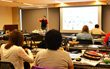 Will Healy III of Balluff, Inc. training teachers at the TECHFIT 2014 workshop at Purdue University on July 17th 2014.