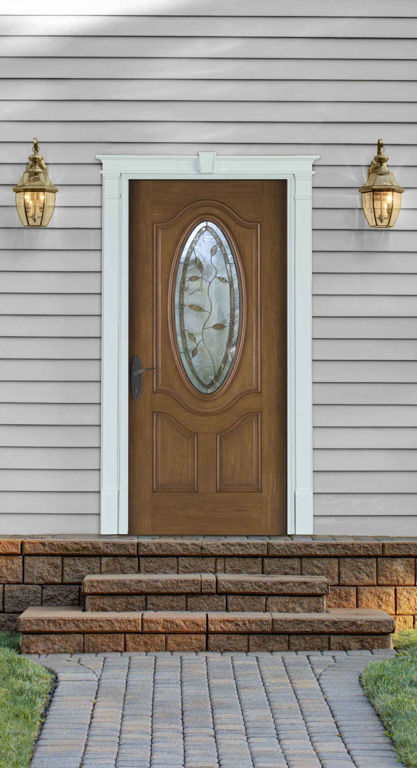 Door Surround Kit From Fypon Adds Curb Appeal To The Home