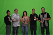 The Flash Point team and Tom Grill receiving their Telly Awards