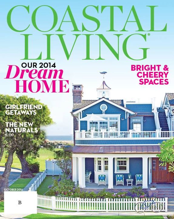 This Is The Coastal Living Magazine Proposed B Cover For The 2014 October  Showhouse Issue. Facebook Followers Could Vote For An A Or B Cover Design.