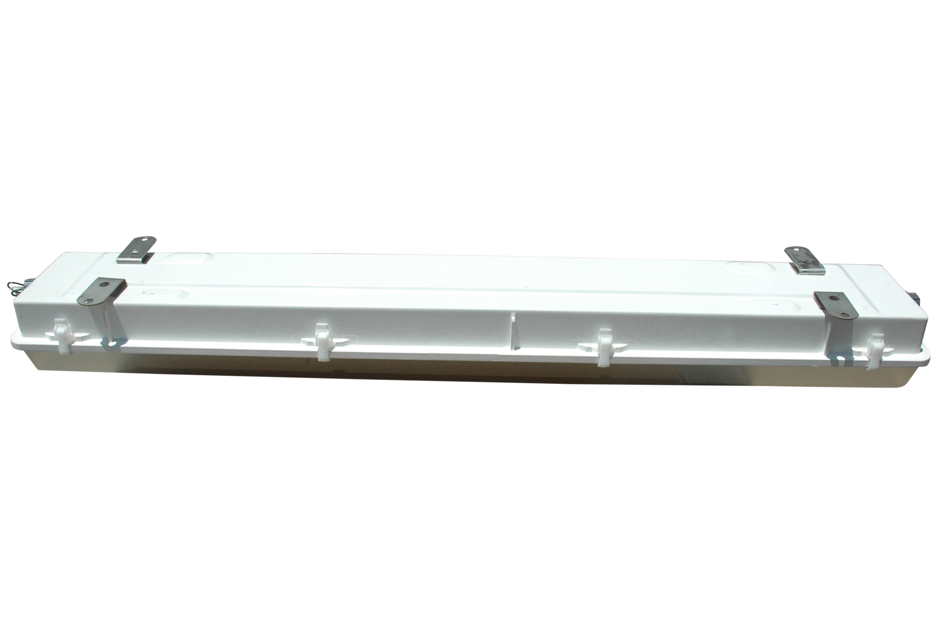 Surface Mounted Class 1 Division 2 Fluorescent Light Fixture With Type Stainless Steel Mountshazardous Area For Use In Wet