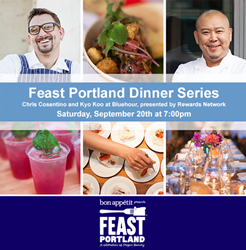 Rewards Network at Feast Portland with Top Chef Masters winner Chris Cosentino