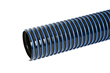 "The anti-static hose comes in both 2-1/2"" and 4"" diameter."