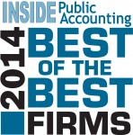 INSIDE Public Accounting (IPA) has named the top 50 Best of the Best Firms in the U.S.