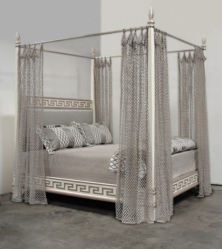 $38,000 Santorini Bed By Phyllis MorrisHandcrafted Four Poster Bed Created  By Phyllis Morris In Los Angeles ...