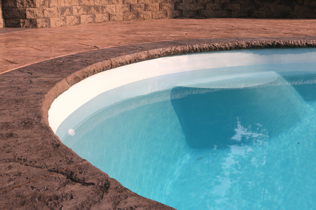 Concrete Countertop Solutions New Pool Coping Forming