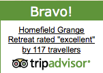 Bravo for Homefield Grange Detox Retreat