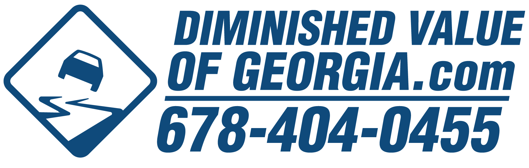 georgia diminished value law diminished value of to appear at the understanding 16921 | dv sticker blue crop