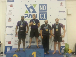 Crazy 88 Competitor Alfonso Washington at the 2014 no Gi Pan