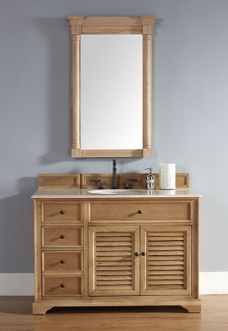 Homethangs Com Has Introduced A Guide To Unfinished Solid Wood Bathroom Vanities From James Martin Furniture