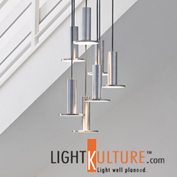 Pablo Designs Cielo Chandelier now available at LightKulture.com