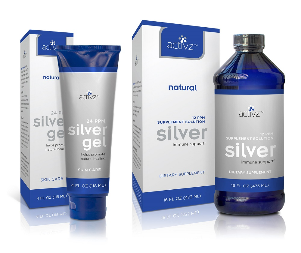 New Collection Of Nano Particle Natural Silver Products By