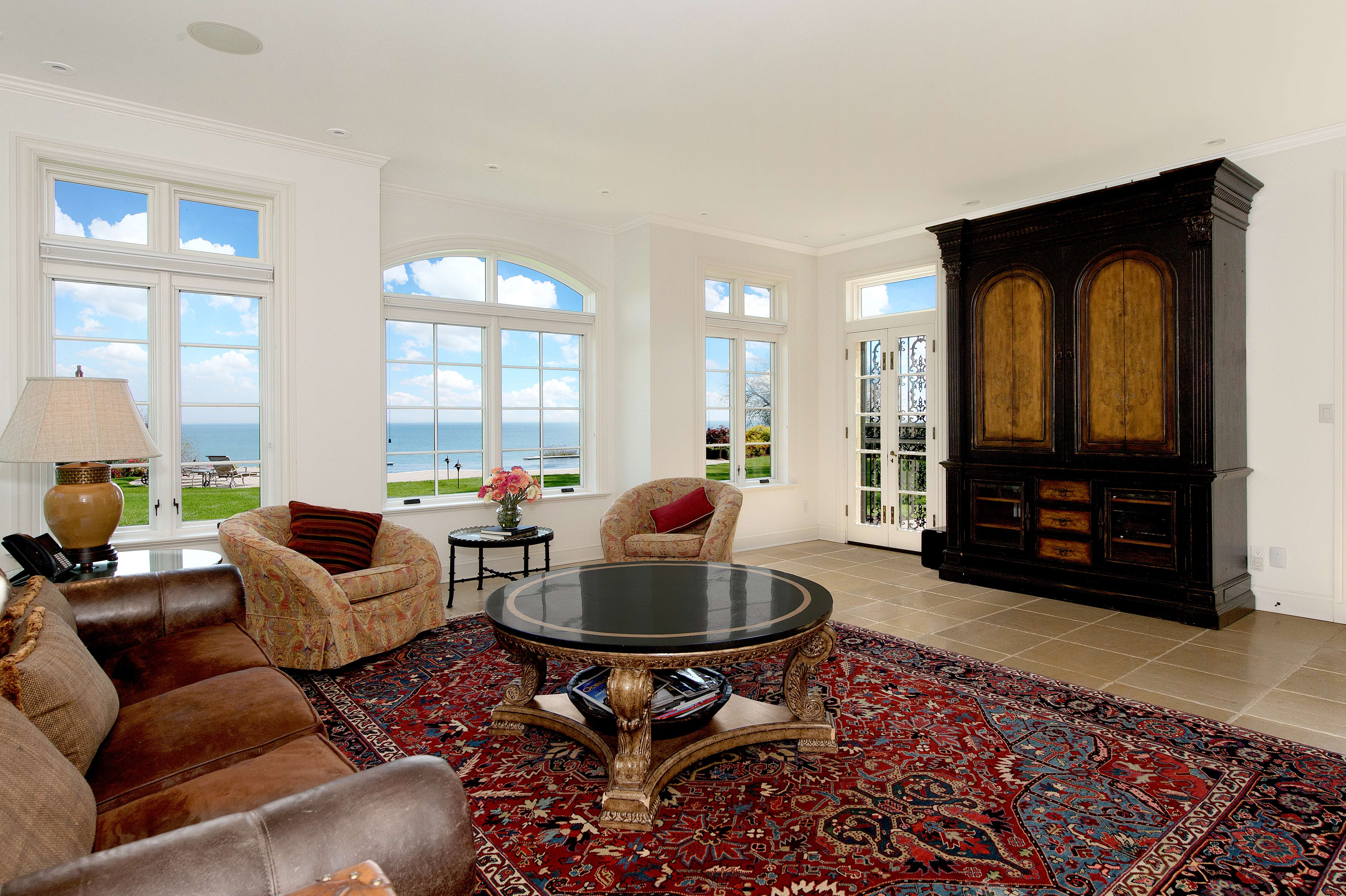 Lake Michigan Waterfront Estate To Be Sold At Absolute Auction On November  18th By Grand Estates Auction CompanyExclusive Racine, Wisconsin, ...