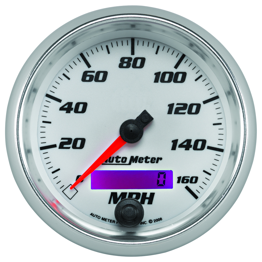 Pro Cycle by Auto Meter Bagger Speedometer, ...