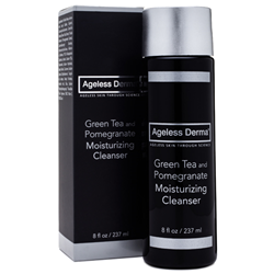 Ageless Derma Green Tea and Pomegranate Moisturizing Cleanser