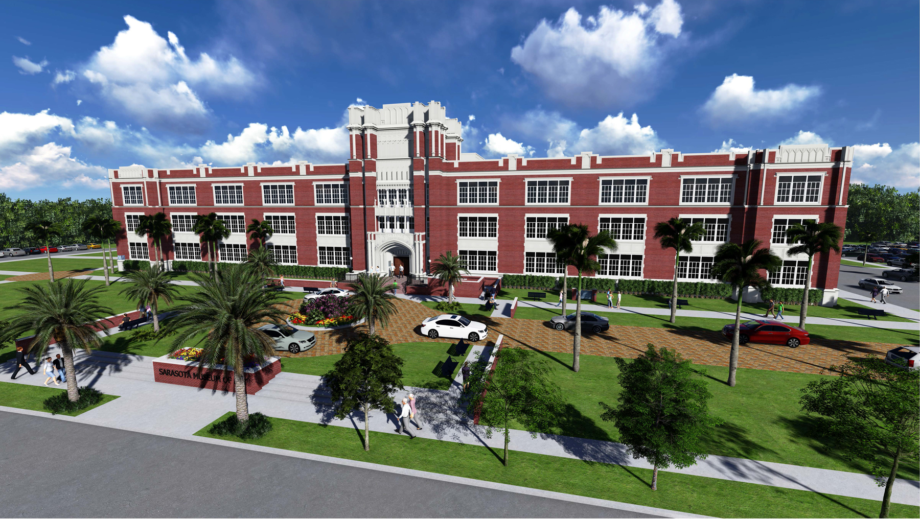 ringling college sarasota museum front smoa academy russell anne executive director marie arts architectural prweb rendering national major announces
