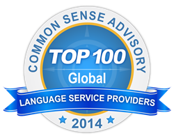 Top 100 Language Services Provider Badge Awarded to Ubiqus