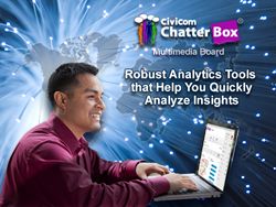 Civicom Brings Robust Marketing Research Analytics Tools to Online Community Platform