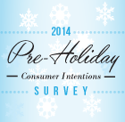 2014 Pre-Holiday Buying Intentions Study