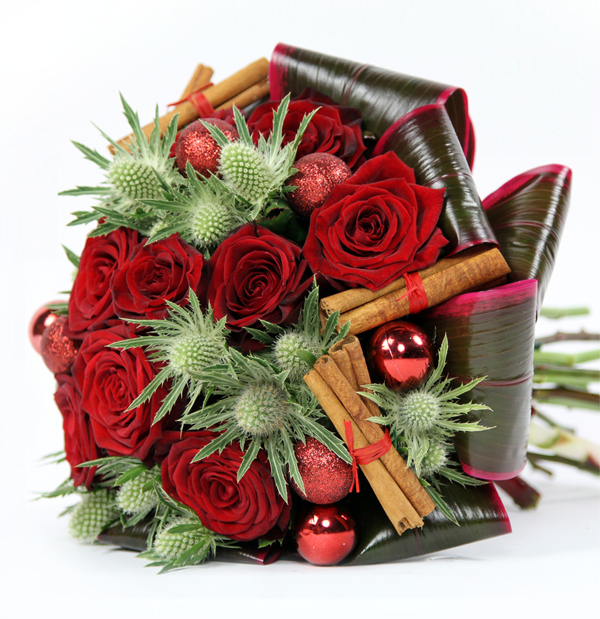 Hot Winter Flower Arrangements And Seasonal Treats By