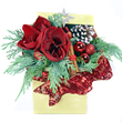 Enchanted Box Winter flower arrangement by London florist shop Flowers24hours Christmas flowers by top flower delivery shop