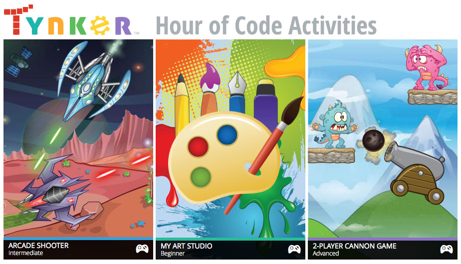 Tynker Launches 10 New Coding Activities to Support the Hour