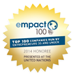 Adscend Media was recognized as one of the top one hundred companies in the United States on the 2013 and 2014 Empact100 List.