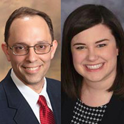 Attorneys Christopher J. Maurer and Kelly L. Petersen